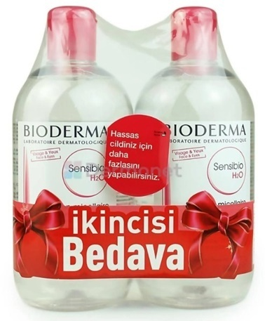 Bioderma BIODERMA Sensibio H2O 500 ml ALANA 2. ÜRÜN HEDİYE Renksiz